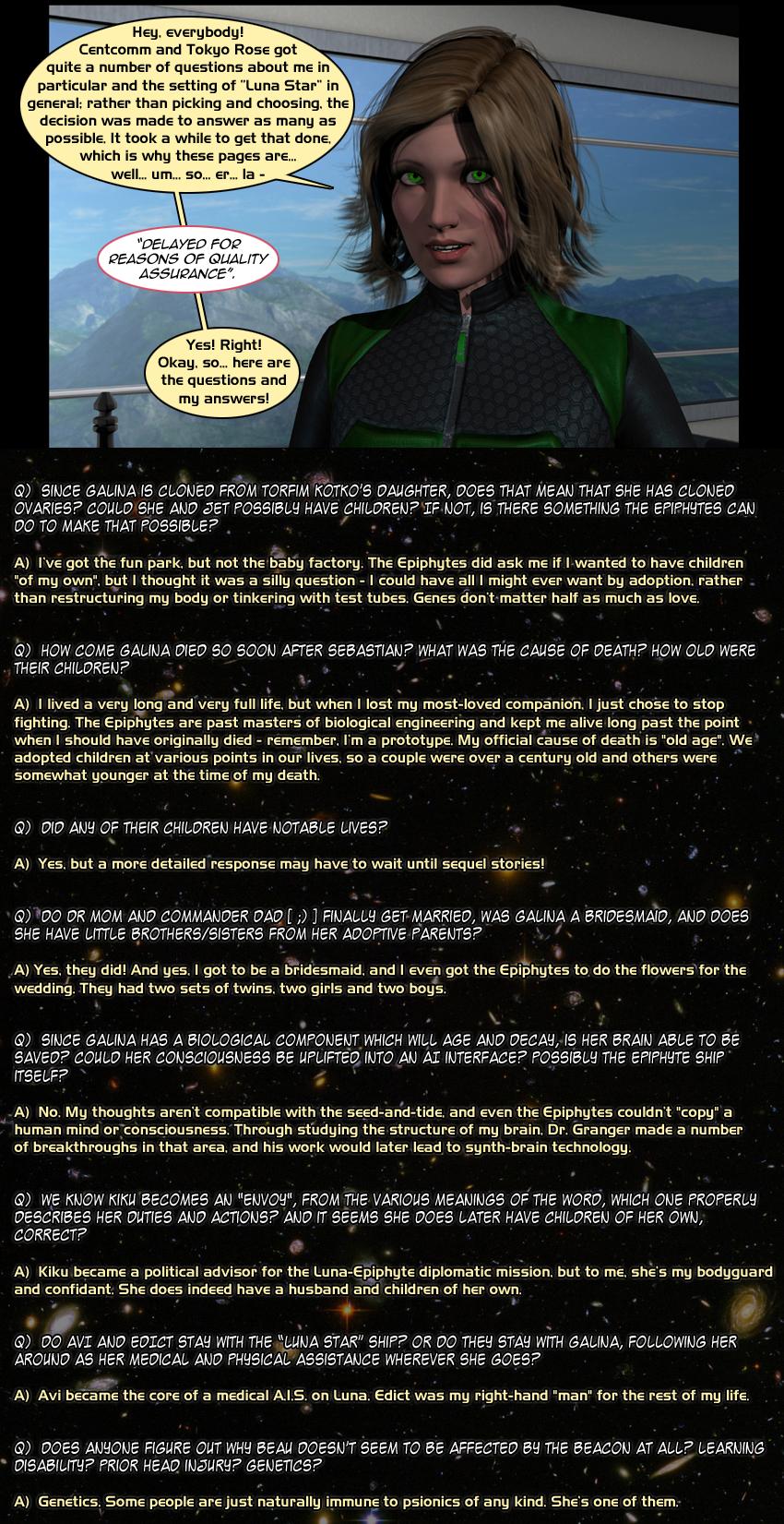 Luna Star Q&A - Page 1